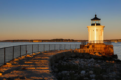 To the Lighthouse II (Bob90901) Tags: lighthouse buglightpark southportland maine goldenhour afternoon light shore seascape rpg90901 canon 6d canonef2470mmf28liiusm 2016 october 1751 portland water sky sunset seashore sea autumn coast seaside
