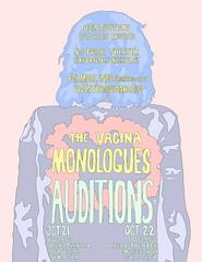 The Vagina Monologues (pinlaur) Tags: vagina monologues art illustration flyer design jacket indoor text cartoon white background drawing pinlaur