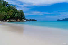 Memutik Island, Sabah (Pakcik G) Tags: blue memutikisland blueocean water windy bluesky bluewater nature holiday cloudy sonya6000 travel holidaytripfamilyholiday