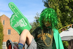 Little dude, but big W&M fan (William & Mary Photos) Tags: select homecoming parade wm wmhc williamandmary williammary collegeofwilliamandmary collegeofwilliammary greenandgold alumni fall