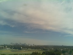 Sydney 2016 Oct 21 09:18 (ccrc_weather) Tags: ccrcweather weatherstation aws unsw kensington sydney australia automatic outdoor sky 2016 oct morning