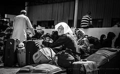 #Gaza - Suffering at the Rafah crossing !! (TeamPalestina) Tags: freepalestine palestinian sunrise sweet beautiful heritage live photo photographer comfort natural  palestine nice am amazing innocent occupation landscape landscapes reflection blockade hope canon nikon sunset