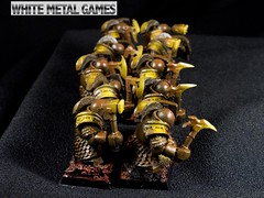 Infernal Guard Ironsworn (whitemetalgames.com) Tags: infernal guard iron sworn ironsworn wmg white metal games raleigh nc north carolina commission painted painting service services hobby