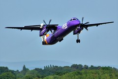 G-JECM (AnDrEwMHoLdEn) Tags: flybe dash8 egcc airport manchester manchesterairport 23l