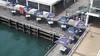 Newcastle, NSW (0pt1Xx) Tags: newcastle queenswharf new australia hunterregion boats sea city street lookouttower noblesbeach coastal beach