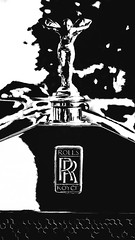 The Rolls (joegeraci364) Tags: auto rolls royce antique art artistic automobile black car crest digital emblem history hood manufactured old regal ride scenic status vehicle vintage wealth white