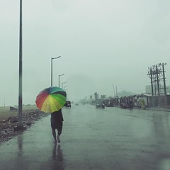 A Rainy Day!!! (VinothChandar) Tags: chennai nada cyclone rains rain december 1 rainyday monsoon rainydays umbrella color colors naada weather