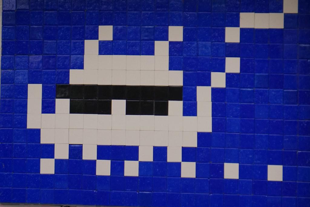 Perfekt Invader In Paris (Marco Braun) Tags: Streetart Graffiti Paris 2016 Mosaik  Mosaic Mosaique
