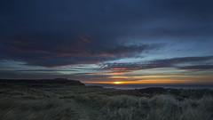 No. 1084 Cold December sunset (H-L-Andersen) Tags: sunset landscape landscapes landoflight manfrotto 6d canon6d canoneos6d lighthouse rubjergknude hirtshals windy sky blue sea seascape colors sun hlandersen