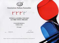 d'Arapr a Vitae 2017 (Sparkling Wines of Puglia) Tags: aispglia guidavini ais vitae2017 degustazione attestatodieccellenza trevitiemezzo