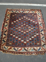 "QASHGAI TRIBAL RUG, C. 1900 • <a style=""font-size:0.8em;"" href=""http://www.flickr.com/photos/51721355@N02/30625005622/"" target=""_blank"">View on Flickr</a>"