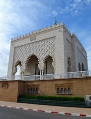 Mohammed V tomb 3 (PhillMono) Tags: nikon dslr d7100 art architecture mausoleum building king mohammed tomb rabat morocco monument