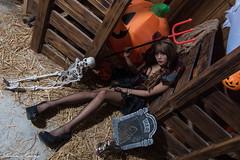 DSC_7444 (Robin Huang 35) Tags: 孫卉彤 candy miruna萬聖風 小惡魔 吸血鬼 vampire 萬聖節 halloween 棚拍 lady girl d810 nikon devil