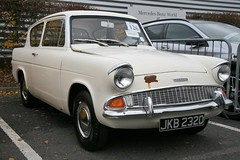 1966 Ford Anglia (davocano) Tags: jkb232d 105e carauction brooklands historicsatbrooklands