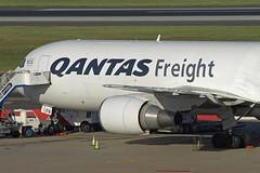 Qantas Freight Boeing 767 (SilentJay76) Tags: sydney newsouthwales australia jet airplane qantas freight boeing 767 cargo expressfreightersaustralia vhefr syd yssy