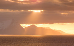 Iceland - May 2016 (3 Wild Sheep) Tags: 2016 iceland osar vatnsnespeninsula clouds midnightsun mountains orange skyscapes spring