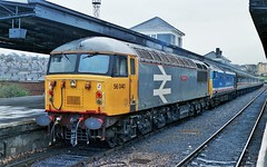 56040 50024 Plymouth (thunderer500081) Tags: class50 50024 vanguard class56 56040 oystermouth plymouth