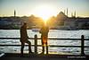 Sun kissed (Harry Hartanto) Tags: travel traveler traveling travelphotos travelmagz turki turkey istanbul galata birdge indonesia nikon d3 iamnikon nikonindonesia street goldenhour sunset winter cold