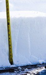 Almost 14 Inches!! (Wild Birdy) Tags: snow deep 14 inches mn minnesota north storm november argos