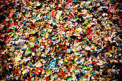 Gum Wall (matthewkaz) Tags: gum gumwall bubblegum sticky stuck chewed alley seattle washington urban downtown city 2012
