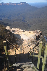 Blue heaven (Couldn't Call It Unexpected) Tags: bluemountains australia staircase