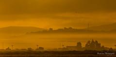 Tétouan morning - Morocco. (Bouhsina Photography) Tags: monochrome tétouan tetuan maroc morocco bouhsina bouhsinaphotogrphy canon 5diii ef100400 brume brouillard matinal matin morning 2016 hiver golden or jaune yellow