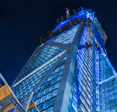 181 fremont on december 4th 2016 (pbo31) Tags: california bayarea night dark black color nikon d810 urban december 2016 fall boury pbo31 sanfrancisco city financialdistrictsouth construction panoramic large stitched panorama howardstreet 181 fremont blue tower