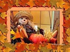 Me After Thanksgiving Dinner (Chic Bee) Tags: i want translucent frame for tall flower spike love glass effect flickrs picnik premium was successful upgrading these frames big huge labs more simple seeingwhatworksandwhatdoesnt lookng transparencyafter thanksgiving rag doll gets cozy autumn leaves raggedyandy raggedy andy