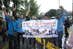 Demonstration for Rohingya 2016 (Khairul Effendi Production) Tags: khairuleffendiproduction kualalumpur kl malaysia malaysian rohingya embassy myanmar burma country state people human walk peace rally peaceful peacerally demo demonstration protest pray protestant protester banner sign moment emotion emotional 2016 view angle landscape face angry