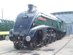 A4 Pacific 60009 at Shildon (Tom Burnham) Tags: uk durham shildon museum railway loco steam gresley pacific streamlined a4