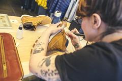 La Renarde (RG Video) Tags: timberland paris store dyo way tatoo draw drawing larenarde shoes