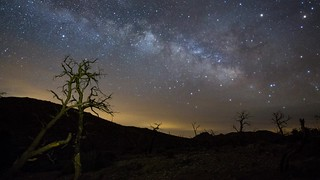Desert Stars - A Time Lapse