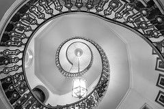 Round & Round.jpg (___INFINITY___) Tags: 6d aberdeen aberdeentownhouse bw architect architecture canon council darrenwright dazza1040 eos infinity scotland staircase