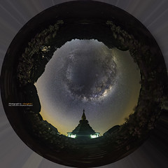 Milky way on night sky with pagoda on the top of Inthanon mountain, Chiang Mai, Thailand. (Alongkot.S) Tags: aquila astro astronomy astrophotograph astrophotography atmosphere background calm chaing chiangmai cignus cluster constellation cosmic cosmos dark doi galaxy glitter infinite inthanon lyra mai milky milkyway nebula nebulae night outer outerspace pagoda sagitta sagittarius science scorpio shine sky sparkle starbright starfield starlight starry stellar telescope thailand twinkle universe vast vulpecula way