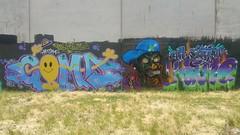 Coma & Kame... (colourourcity) Tags: streetartaustralia streetart streetartmelbourne graffiti graffitimelbourne alphabetmosnters letters melbourne burncity awesome colourourcity nofilters burner kame ac jo132 allcity tbs ssb coma