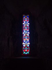 A chapel stained glass window (MySimplePhotosToday) Tags: castle dover england english great heritage kent kingdom tower uk united building chapel fortress gateway glass medieval stained window