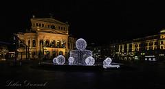 Alte Oper Frankfurt (Lothar Drewniok) Tags: alteoper lothardrewniok lichtundschatten alemania nightshot germany weihnachstzeit