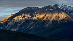 Morning light on Mount Indefatiguable (virgil martin) Tags: mountains clouds landscape peterlougheedprovincialpark alberta canada panasoniclumixfz1000 oloneo gimp