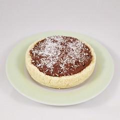 Raw Vegan Coconut Chocolate Tart (myhealthydessert) Tags: raw vegan dessert nobake coconut chocolate tart sweets food delicious tasty yummy foodblog foodblogger recipe recipes crust