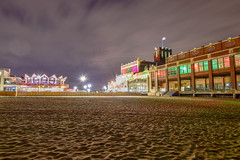 Asbury Park at night (seanbeebe_photo) Tags: asburypark nj newjersey beach night conventionhall boardwalk