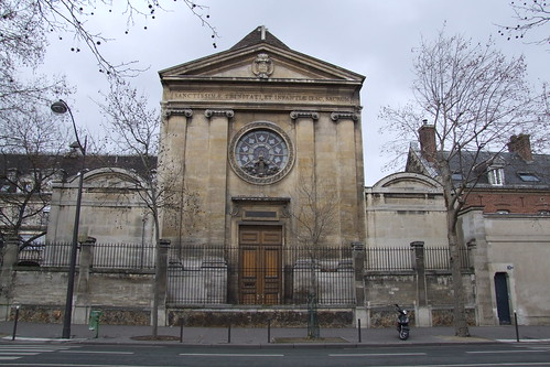 Trinity Chapel of Saint-Vincent-de-Paul's Hospital, 14.02.2012.