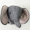 "Little Grey Elephant Head • <a style=""font-size:0.8em;"" href=""http://www.flickr.com/photos/29905958@N04/20535066415/"" target=""_blank"">View on Flickr</a>"