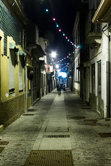 lonely street (André Oliveira Photography) Tags: street building portugal canon long exposure ligth nigth