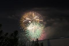 2015_08_08 淀川花火-5 (Y.K.swimmer) Tags: japan night fireworks osaka 花火 淀川 花火大会 なにわ