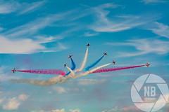 Red Arrows (Nick Baker 1990) Tags: england sky clouds kent display smoke jet bluesky airshow redarrows raf displayteam hernebayairshow2015