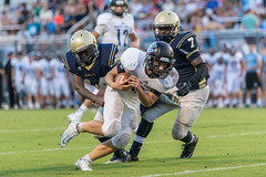 PVHS v Paxon-190 (mark.calvin33) Tags: football hit student kick quarterback pass highschool rush catch defense pontevedra tackle blocker nightgame rushing offense pvhs runningback rushingyards