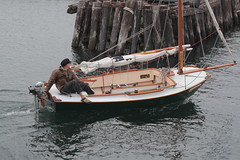 IMG_3636 - Port Townsend WA - 2015 Wooden Boat Festival - day 3 - Departure and Sail-By - Pacific Pelican-class sloop SV SAWAYA (BlackShoe1) Tags: wood classic lines festival sailboat boat washington seagull olympicpeninsula boom wash epoxy porttownsend pacificnorthwest wa pugetsound motor mast fiberglass woodenboat washingtonstate spar powerboat rigging carbonfiber spars woodboat jeffersoncounty nwmc boatfestival wbf porttownsendwa seagulloutboard quimperpeninsula sawaya pacificpelican classicwoodenboat porttownsendwoodenboatfestival victorianseaport woodenboatfoundation northwestmaritimecenter eastjeffersoncounty victorianseaportandartscommunity contemporarywoodboat