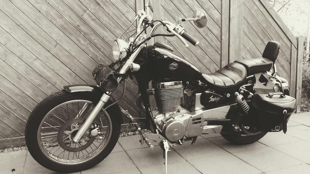 Suzuki LS650 Savage Michael Wuensch Tags Chopper Motorbike Motorcycle Motorrad Ls650