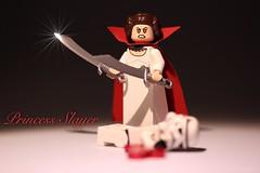 Scare Wars : No Hope . Princess slayer. (Legoagogo) Tags: halloween lego princess leia chichester legoagogo