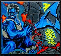 Artists: Unknown (pharoahsax) Tags: world street urban bw streetart get art colors wall writing germany painting deutschland graffiti artwork mural paint artist kunst tag tags spray peinture urbanart painter writer graff baden karlsruhe ka legal spraycan württemberg süden pmbvw worldgetcolors